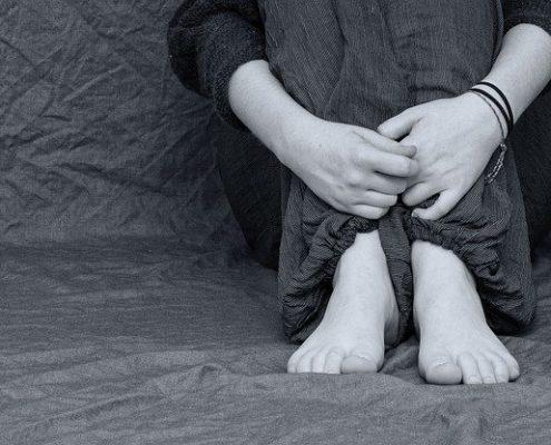 Pocit strachu o dítě